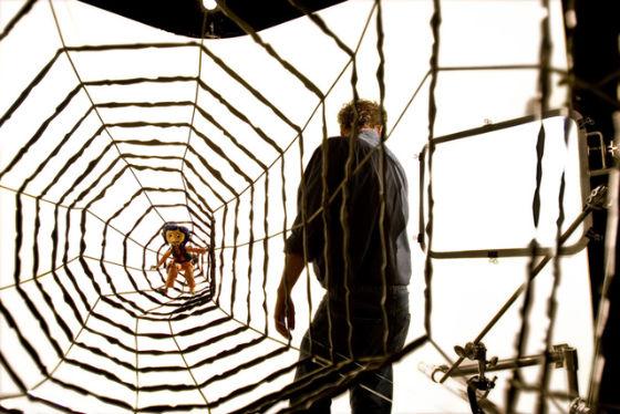 Coraline prise dans la toile du cinéma de Henry Selick