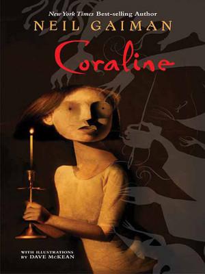 Première de couverture Coraline de Neil Gaiman par Dave McKean