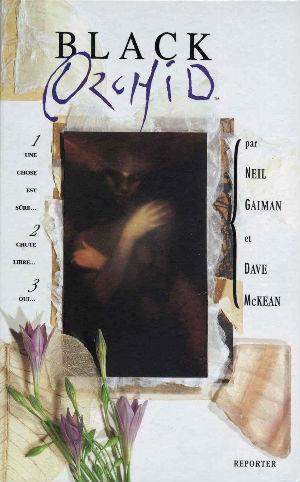Première de couverture  de Black Orchid | Neil Gaiman et Dave McKean