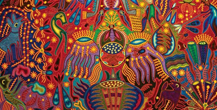 exemple d'art Huichol - mescaline