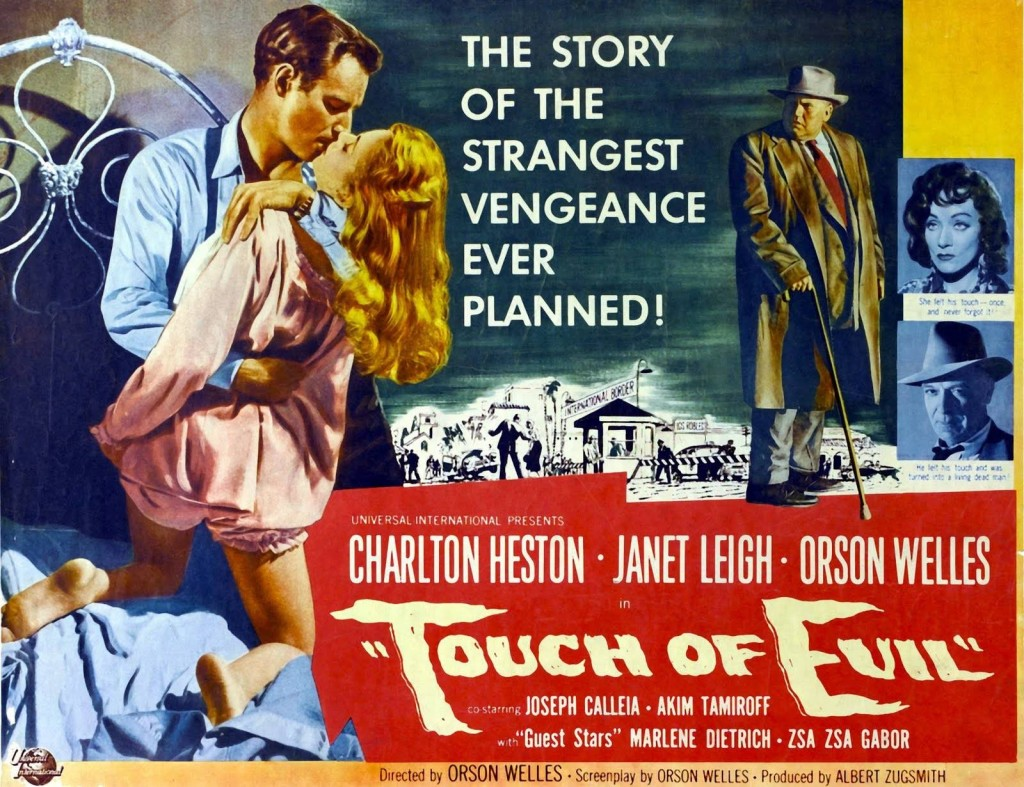 Affiche du film TOUCH OF EVIL de Orson Welles - 1958