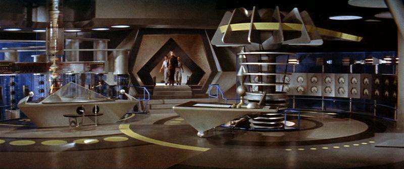 Forbidden Planet  : le laboratoire des krells