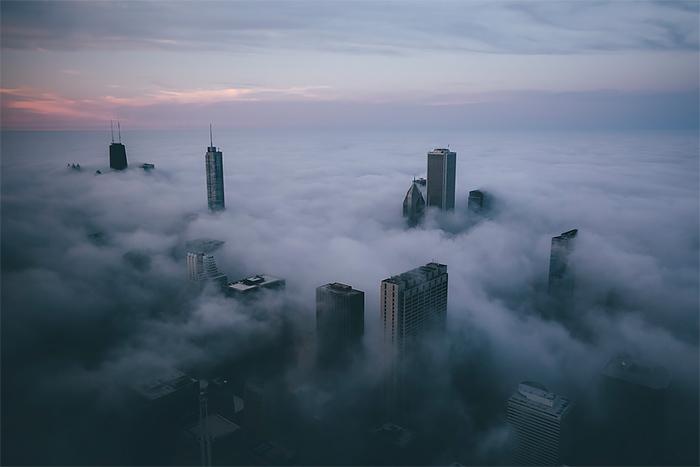 Les brumes magiques de Chicago / Photography Michael Salisbury