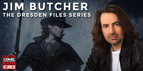 Jim Butcher et ses Dresden Files
